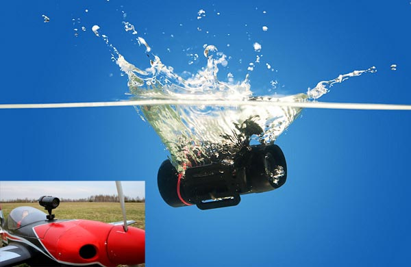 Waterproof HD Video Camera Action Sports Camera/Recorder with Night Vision