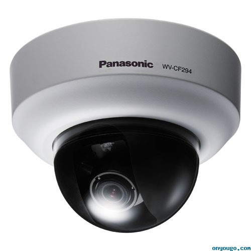 Panasonic WV-CF294 Compact Color Dome Camera with 3.6x Vari-Focal Lens and ABF 540 Lines AC/DC