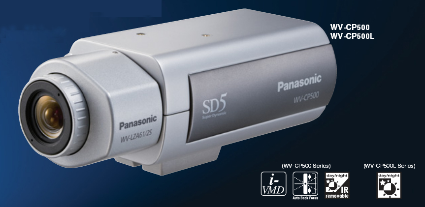 Panasonic WV-CP500L SD5 Day/Night Camera